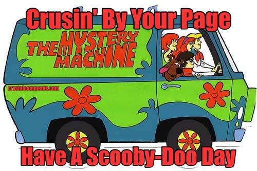 Crusin' By Your Page Have A Scooby-Doo Day