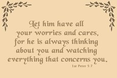 he is always thinking about you and watching everything