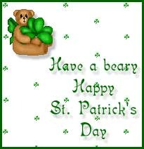 have a beary happy st patricks day