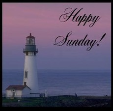 happy sunday lighthouse