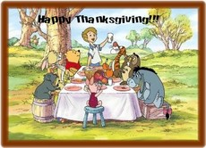 happy thanksgiving winnie the pooh