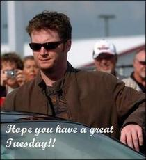 hope you have a graet tuesday
