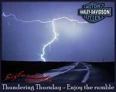 thundering thursday enjoy the rumble harley davidson