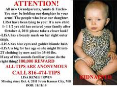Help find baby Lisa Irwin