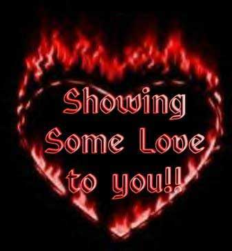 showing some love to you