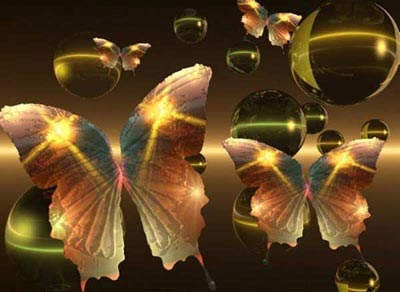 butterflies and bubbles