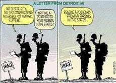 a letter from detroit michigan