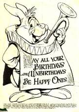 may all your birthdays and unbirthdays be happy ones