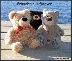 friendship is forever teddy bears