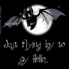 just flying by to say hello