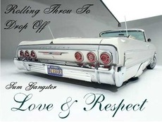 rolling throu to drop off sum gangster love and respect