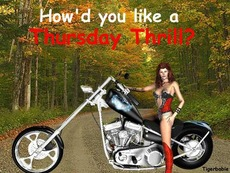 how'd you like a thursday thrill?