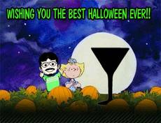 wishing you the best halloween ever