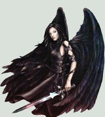dark warrior angel