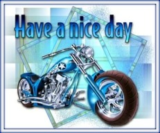 have a nice day motorcycle